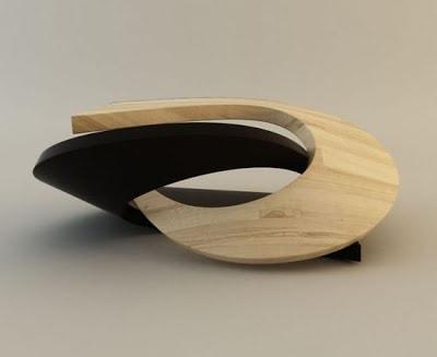 Il tavolino scultoreo OYA