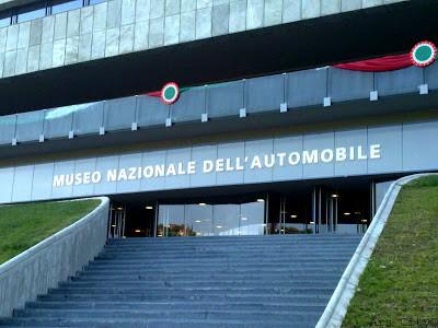 Una domenica al Museo dell'auto di Torino