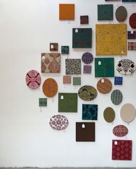 Spunti d'arredo: quadri di stoffa