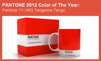 Il colore Pantone del 2012