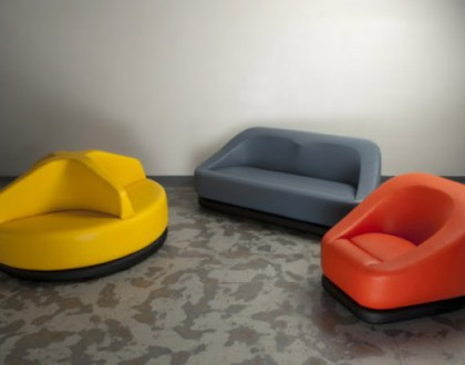 Salone del mobile 2012: le sedute colorate