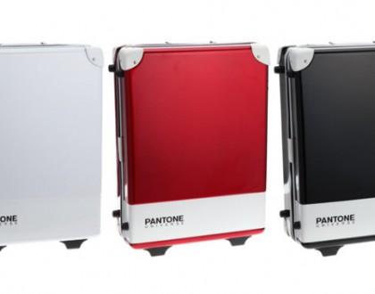 Pantone suitcases
