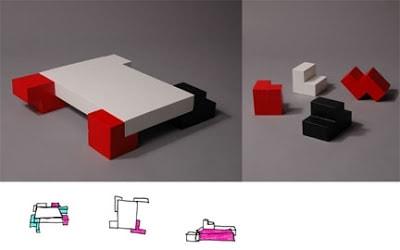 Arredare con il gioco del Tetris