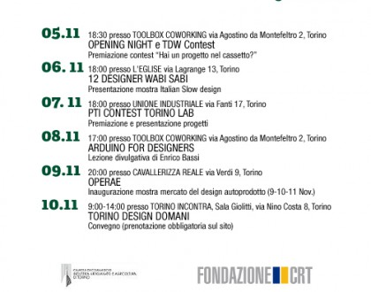 Contemporary week torinese