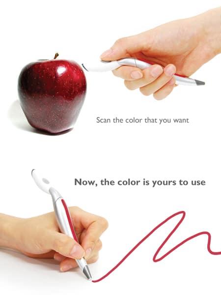 L'oggetto del desiderio della settimana:la penna cattura colori