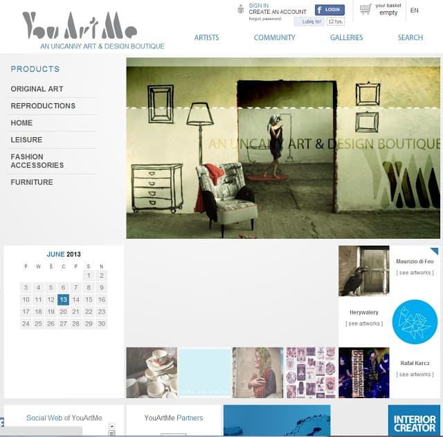 Il sito della settimana:YouArtMe