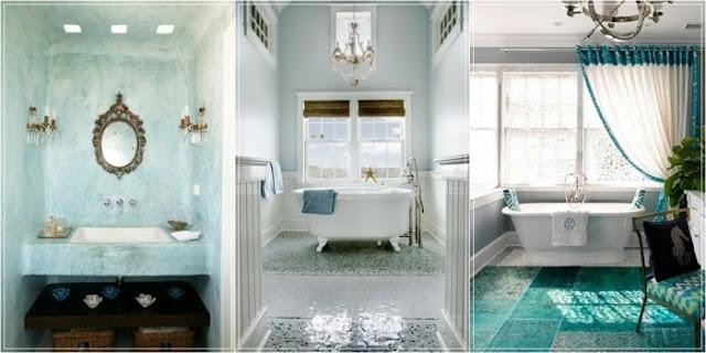 Il sito della settimana bagni dal mondo arscity for Piastrelle bagno turchese