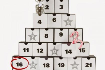 Il calendario dell'avvento:16 dicembre