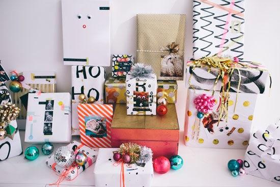 Il video della settimana: wrapping paper party
