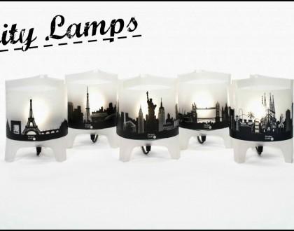 L'oggetto del desiderio della settimana:City lamps