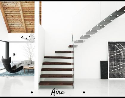 Aira:una nuova scala per interni