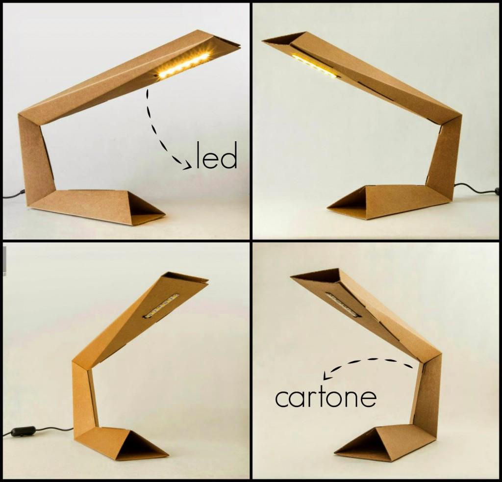 Lampada In Cartone 01lamp : Fattelo e la lamp arscity