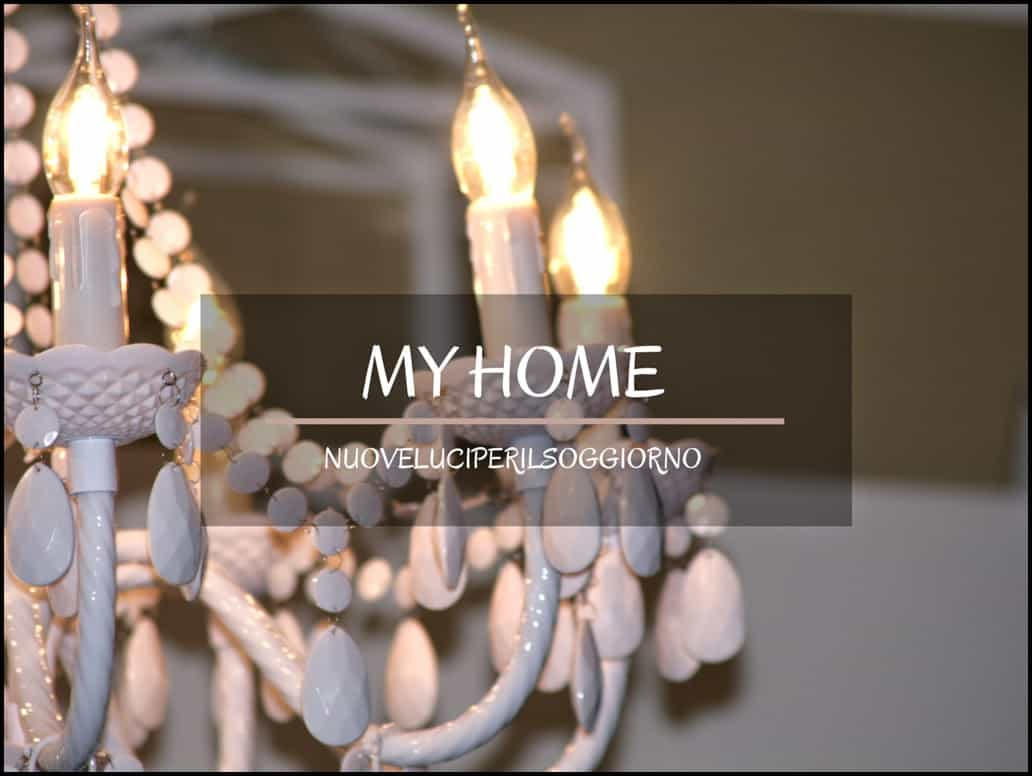 My home:nuovi luci per il soggiorno