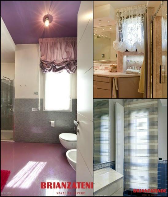 Arredare la casa le tende arscity - Tende per bagno ...