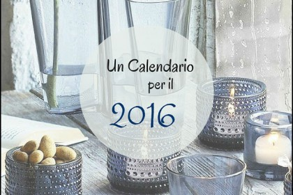Design time #10: un calendario per il 2016