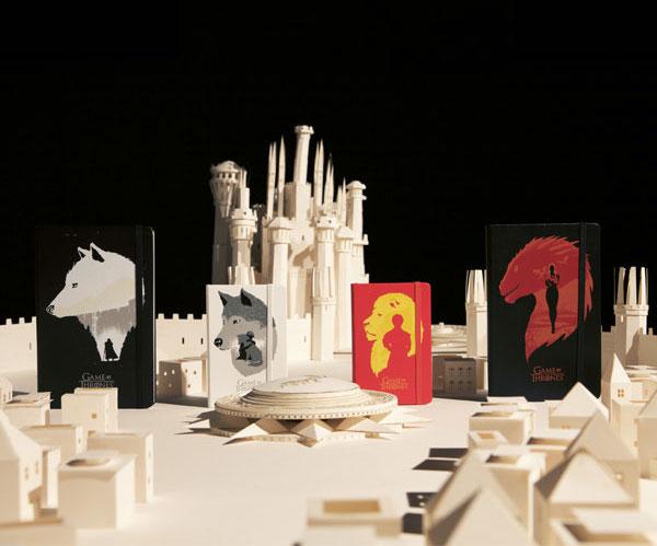 L'oggetto del desiderio della settimana:Moleskine Game of Thrones