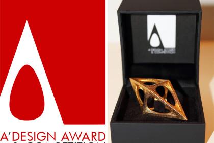 A' Design Award and Competition: i vincitori