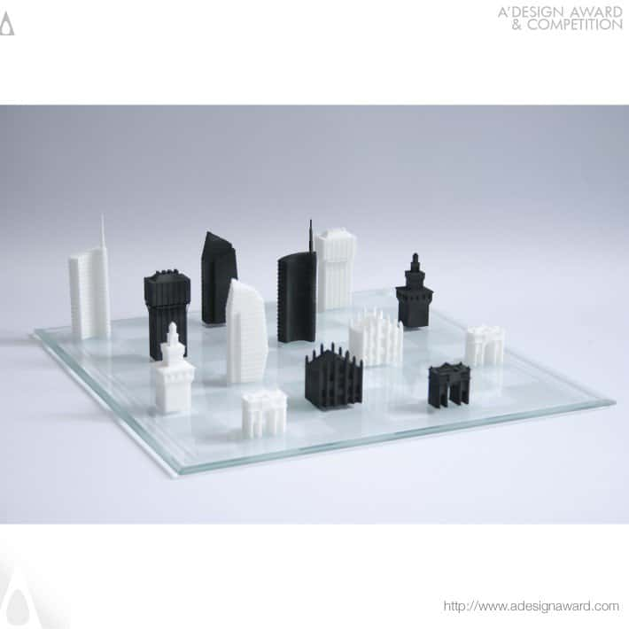 Milan Chess Set by Davide Chiesa