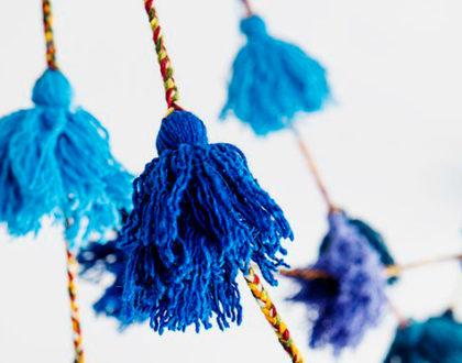 PomPom mania:come usarli per decorare casa