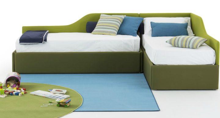 Arredi trasformabili per la cameretta: il letto singolo Birba