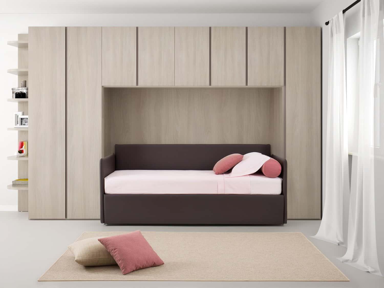 Arredi trasformabili per la cameretta il letto singolo for Ikea armadio a ponte