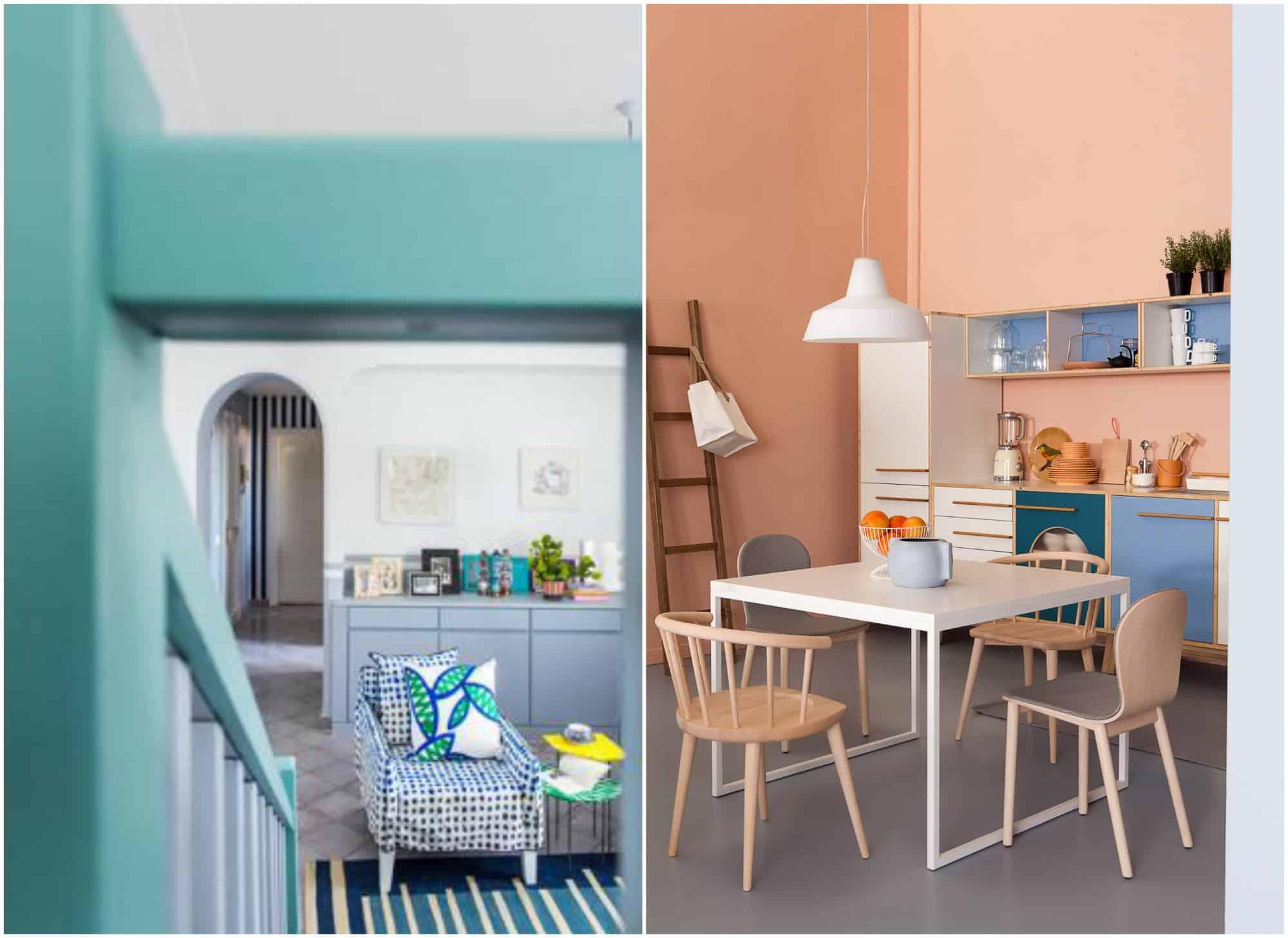 Simple non si tratta di un aspetto puramente estetico - Colorare pareti casa ...