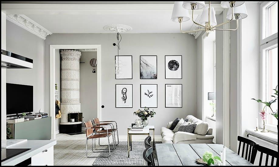 Una casa in bianco e nero arscity for Arredare casa in bianco