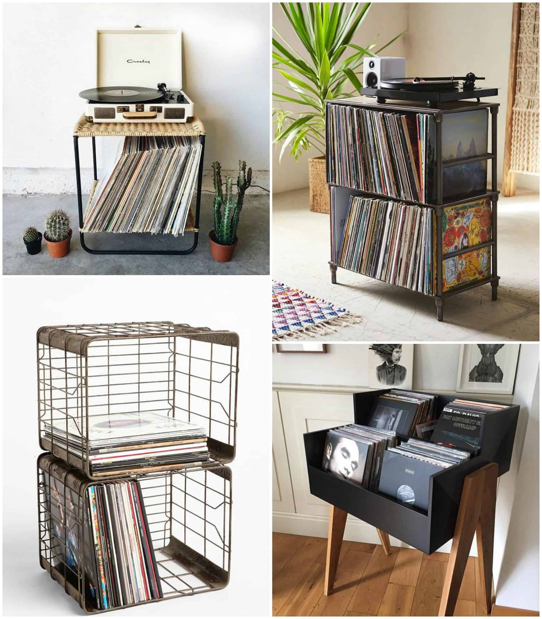 Arredare con la musica mobili per i vinili arscity - Ikea mobile metallo ...