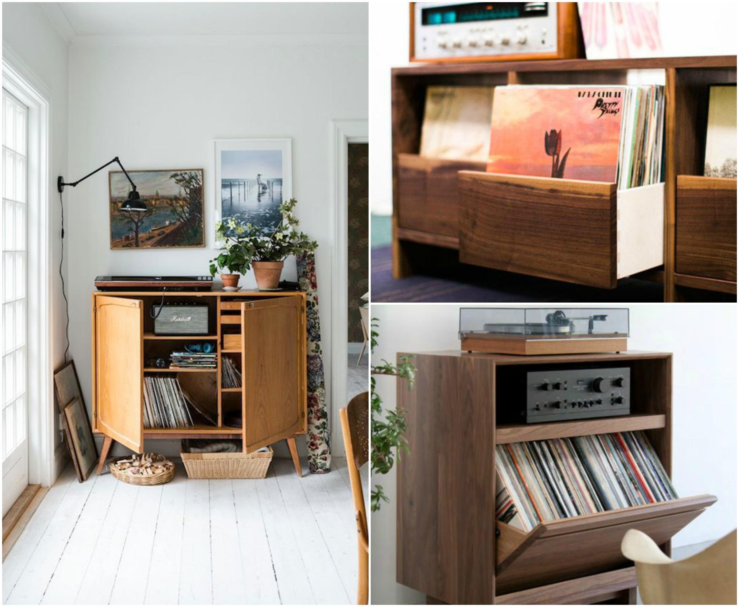 Arredare con la musica mobili per i vinili arscity for Mobili e design