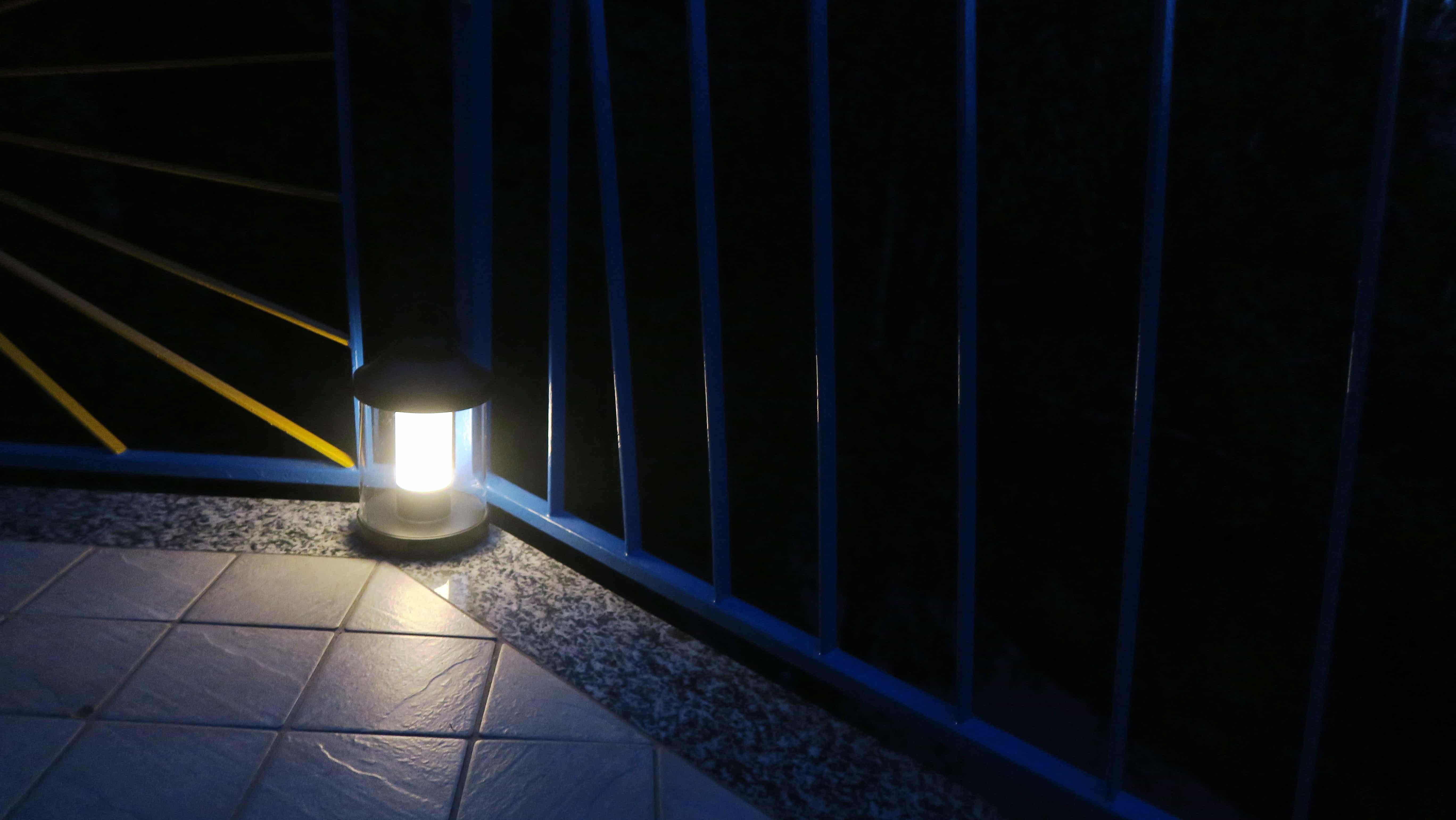 Una luce portatile per le sere d'estate
