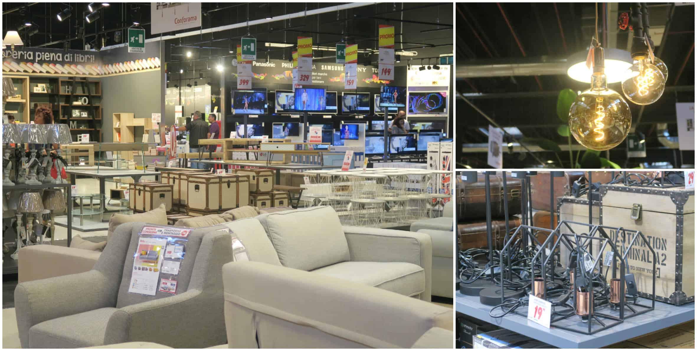 nuovi shops di arredamento il punto vendita conforama a