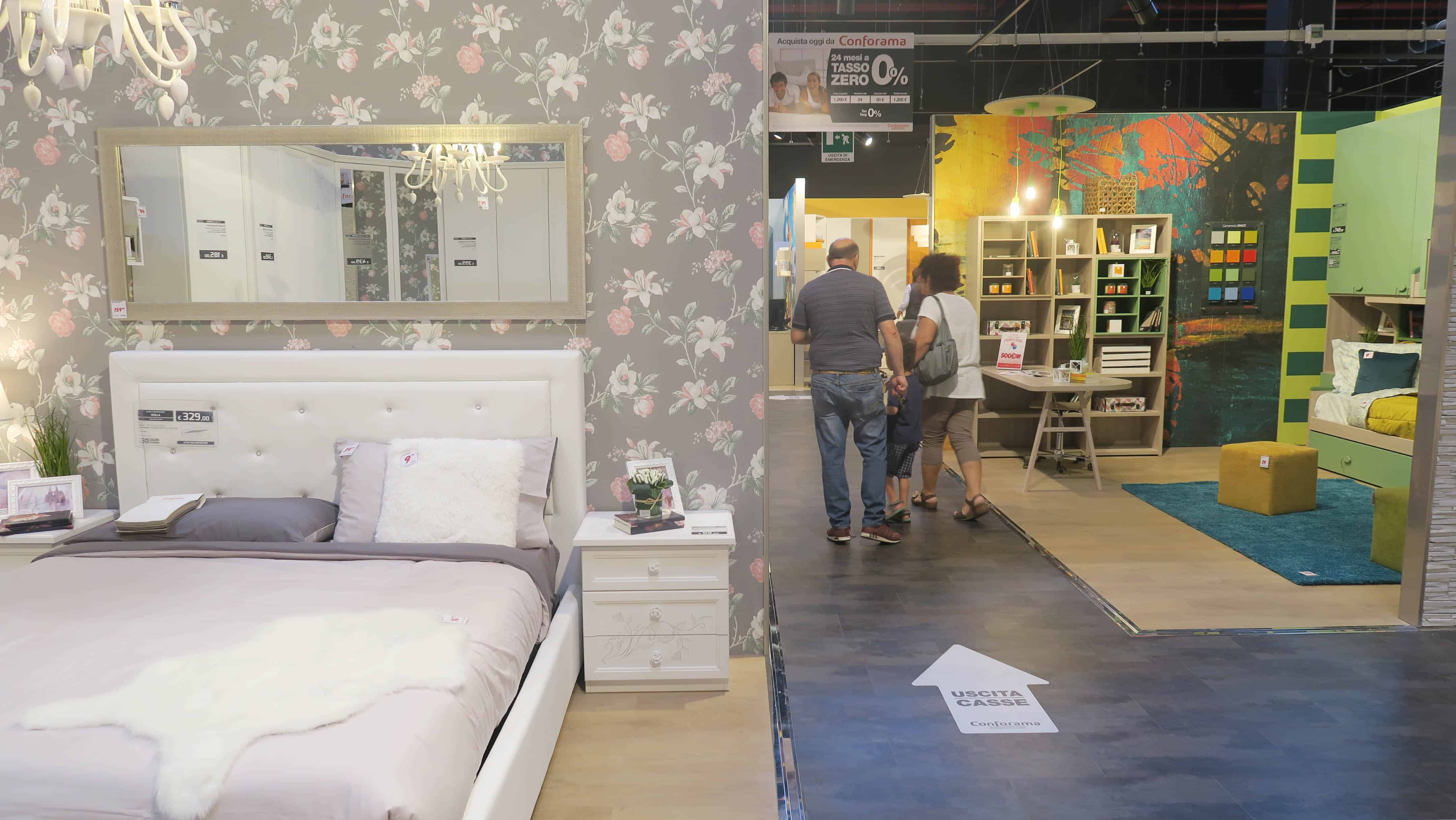 Nuovi Shops Di Arredamento Il Punto Vendita Conforama A Settimo