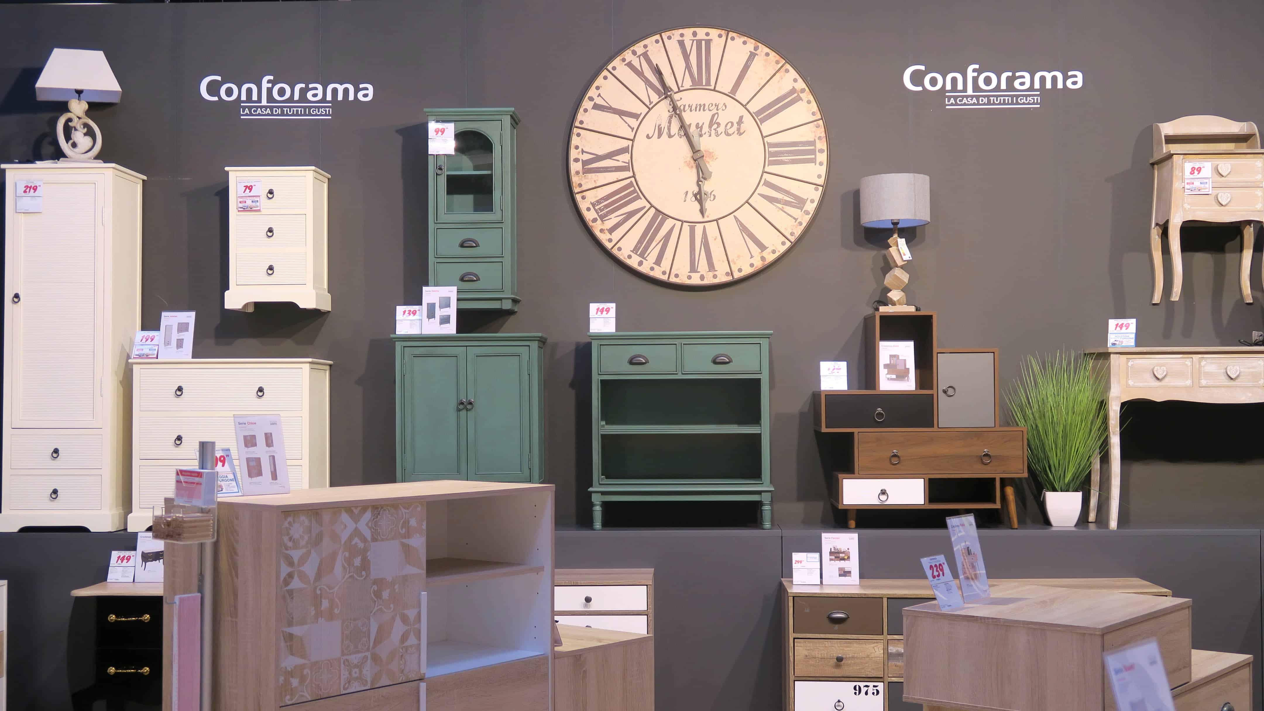 Nuovi shops di arredamento il punto vendita conforama a for Conforama camerette