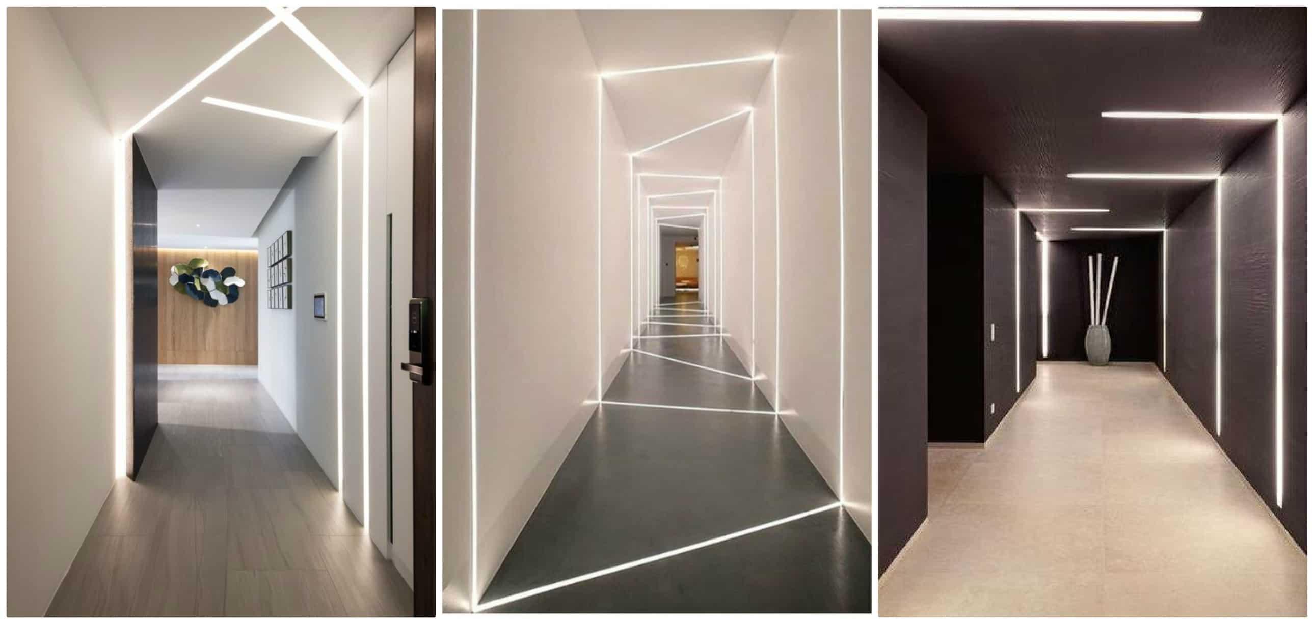 Illuminazione di design per il corridoio arscity for Lampade a led grandi