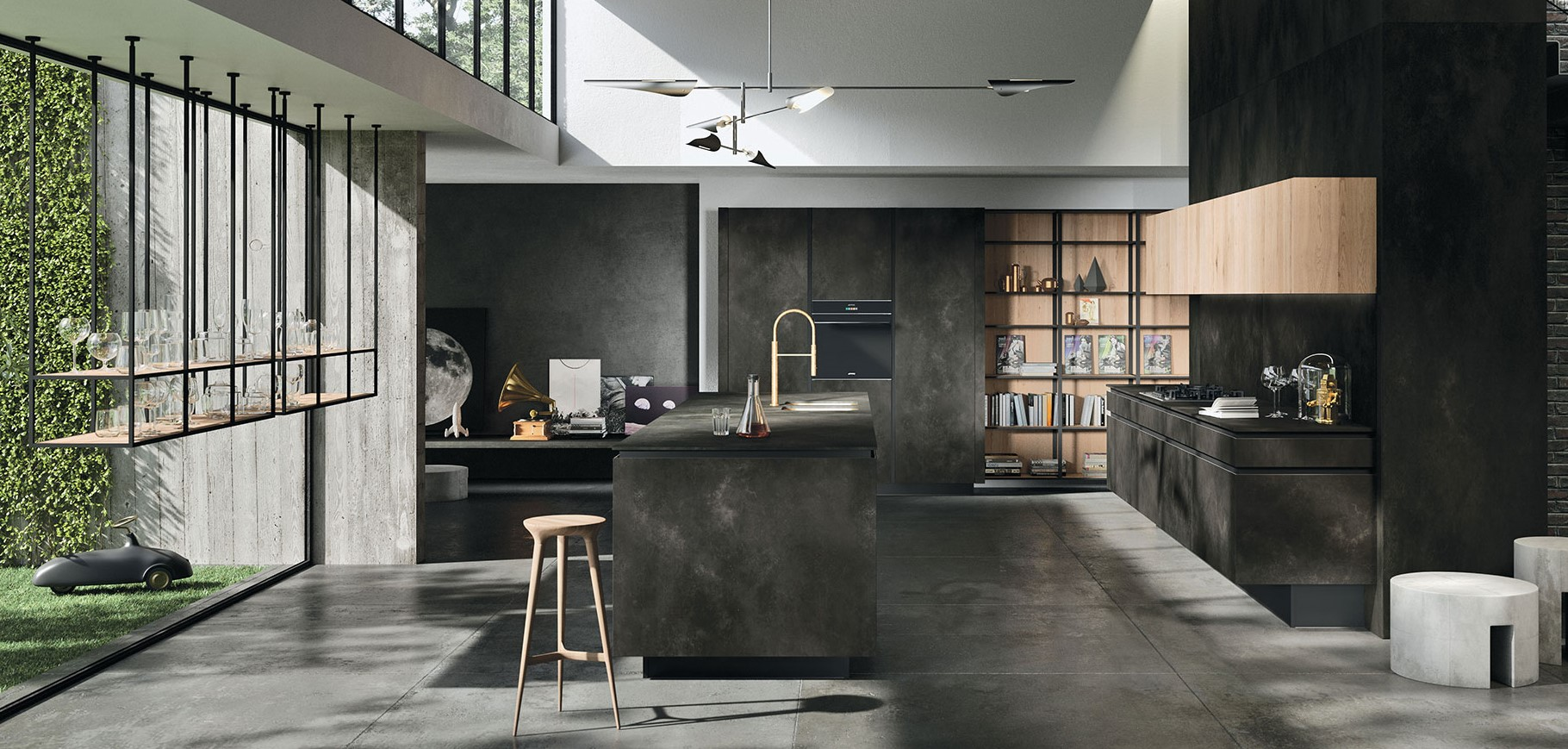 Cucine di design un viaggio tra stili e nuovi materiali for Stili di design di mobili