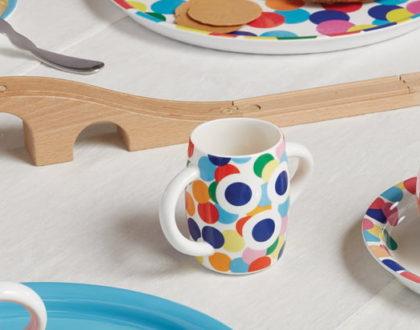 Alessini: il set da tavola di design per i più piccoli