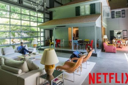 Netflix e design: Interni da favola