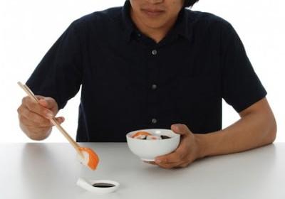 Un cucchiaio per il sushi