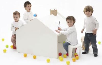 Tavoli per bambini di design per la cameretta