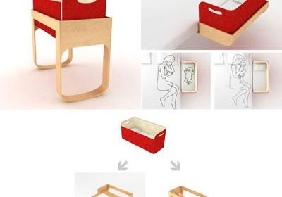 Scegliere la culla: proposte di design per facilitare il sonno del neonato