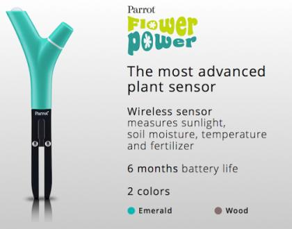 L'oggetto del desiderio della settimana:Parrot Flower Power