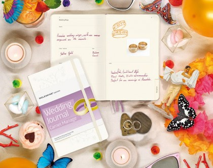 L'oggetto del desiderio della settimana:moleskine wedding planning journal