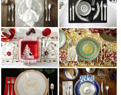 Il video della settimana:Holiday Table Setting