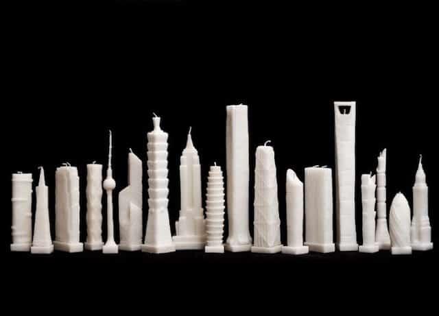 L'oggetto del desiderio della settimana:Skyscraper candles
