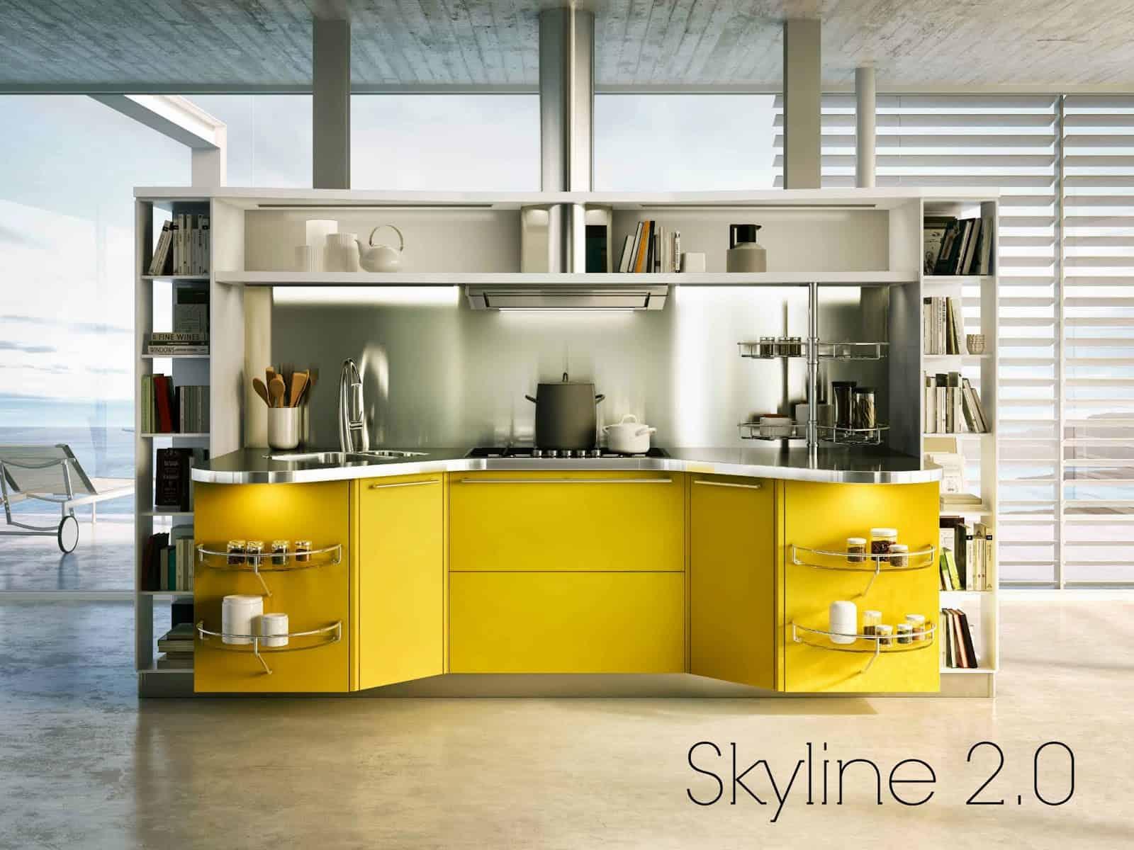 Idee per la cucina skyline 2 0 arscity - Idee per la cucina ...