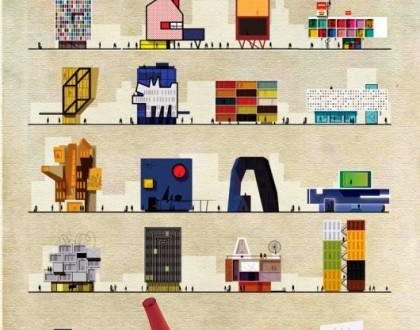 Poster tra arte e architettura