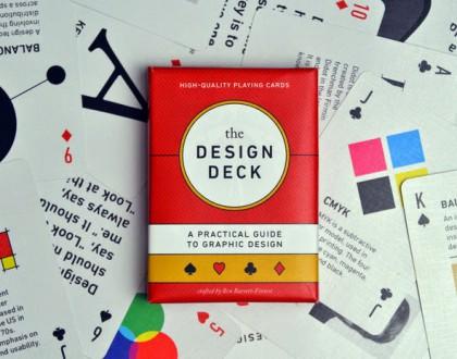 L'oggetto del desiderio della settimana:The Design Deck