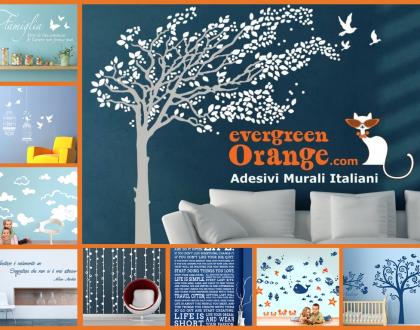 Arredare le pareti di casa:i wall stickers
