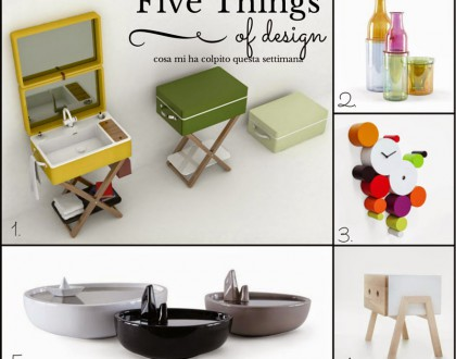 Five Things of design