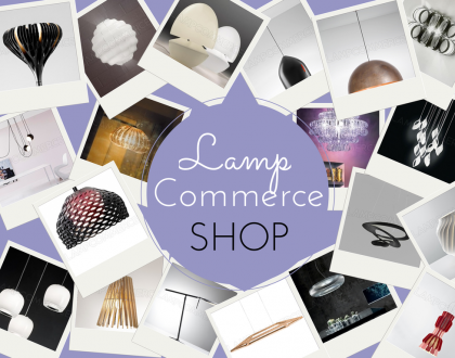 Un eshop per le lampade di design:lampcommerce